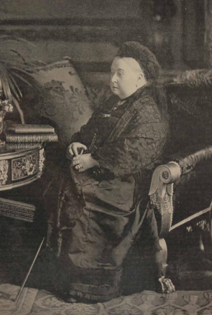 Black & White Photograph, Queen Victoria & Abdul - 4