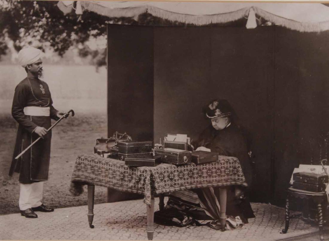Black & White Photograph, Queen Victoria & Abdul - 5