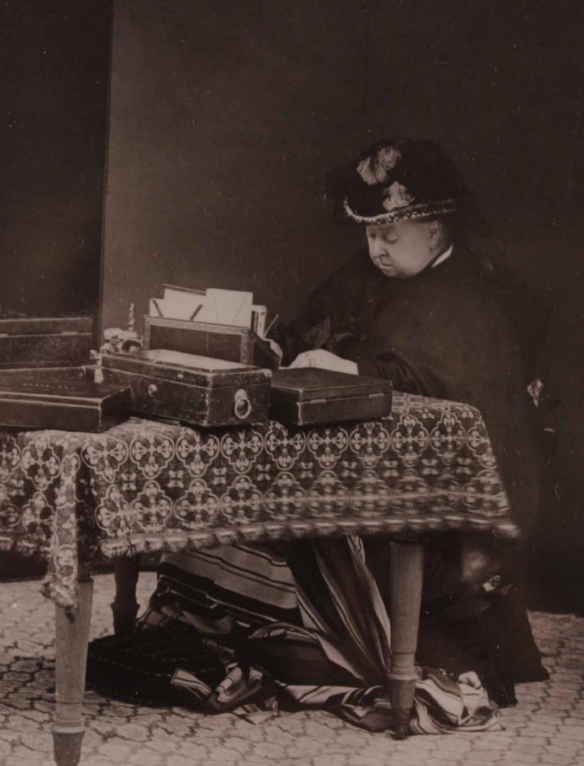 Black & White Photograph, Queen Victoria & Abdul - 6