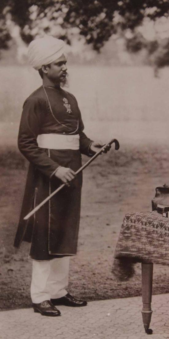 Black & White Photograph, Queen Victoria & Abdul - 7