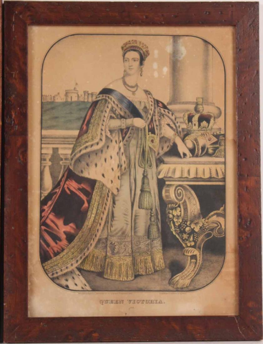 Two Prints, Queen Victoria and Prince Albert - 2