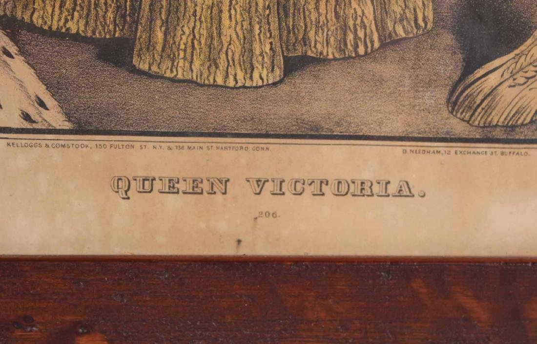 Two Prints, Queen Victoria and Prince Albert - 4