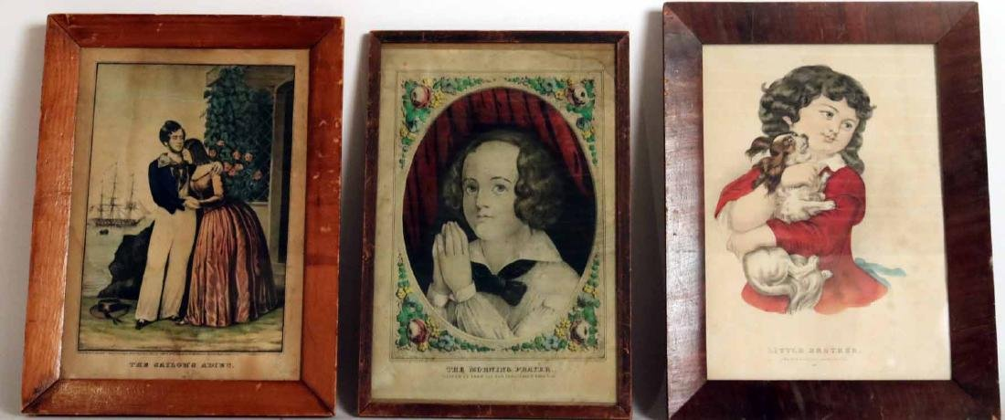 Two Prints of Young Boys