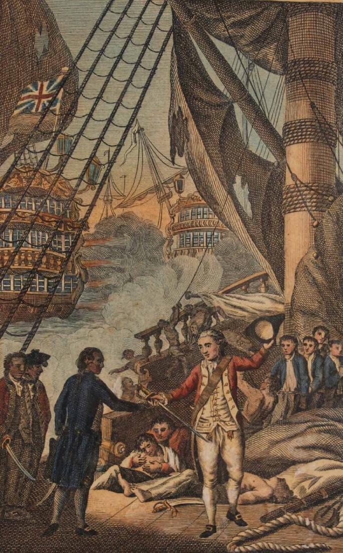 Three Engravings of English Military Scenes - 3