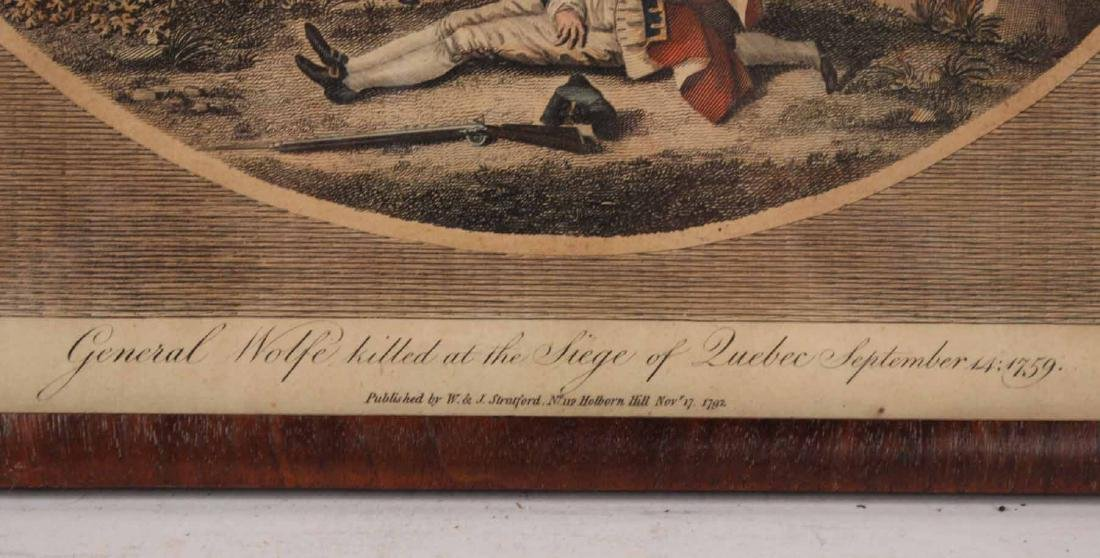 Three Engravings of English Military Scenes - 5