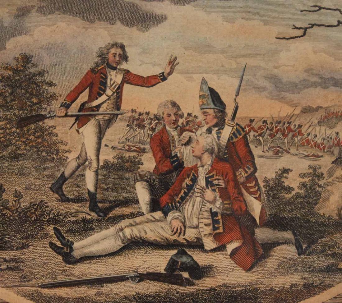 Three Engravings of English Military Scenes - 6