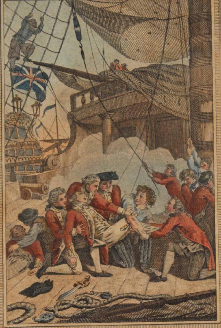 Three Engravings of English Military Scenes - 8