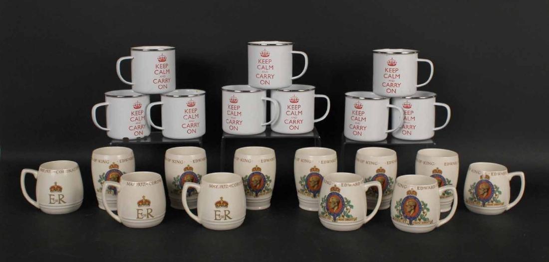 King Edward VIII Coronation Porcelain