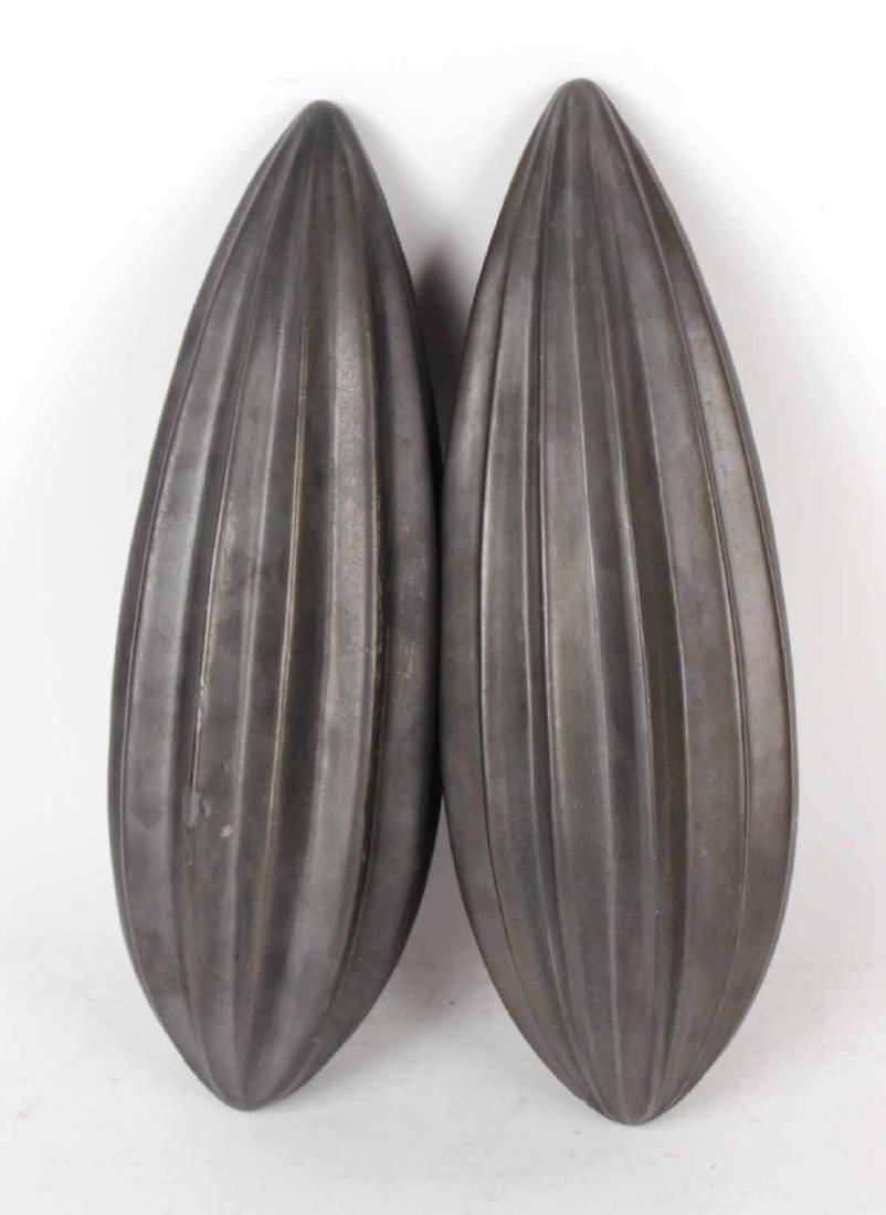 Pair of Modern Ceramic Decorative Articles