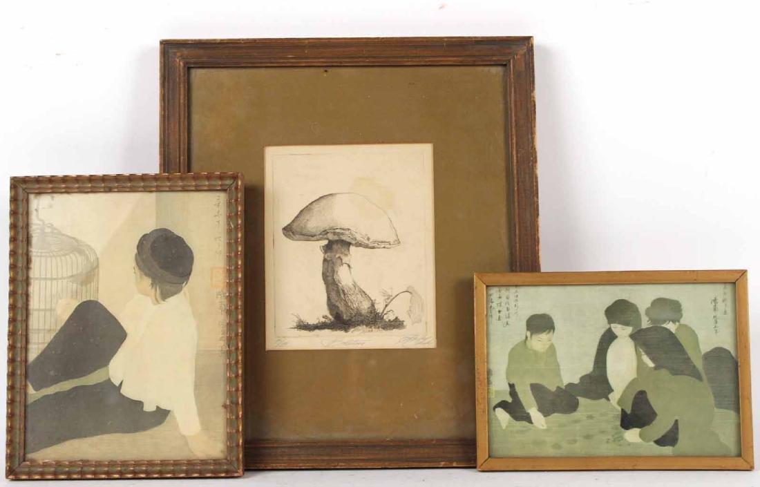 Engraving of a Mushroom, Shelly Fink
