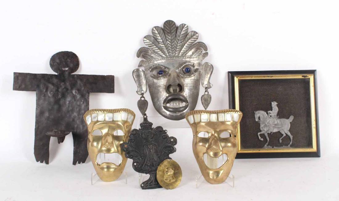 Seven Decorative Hanging Items