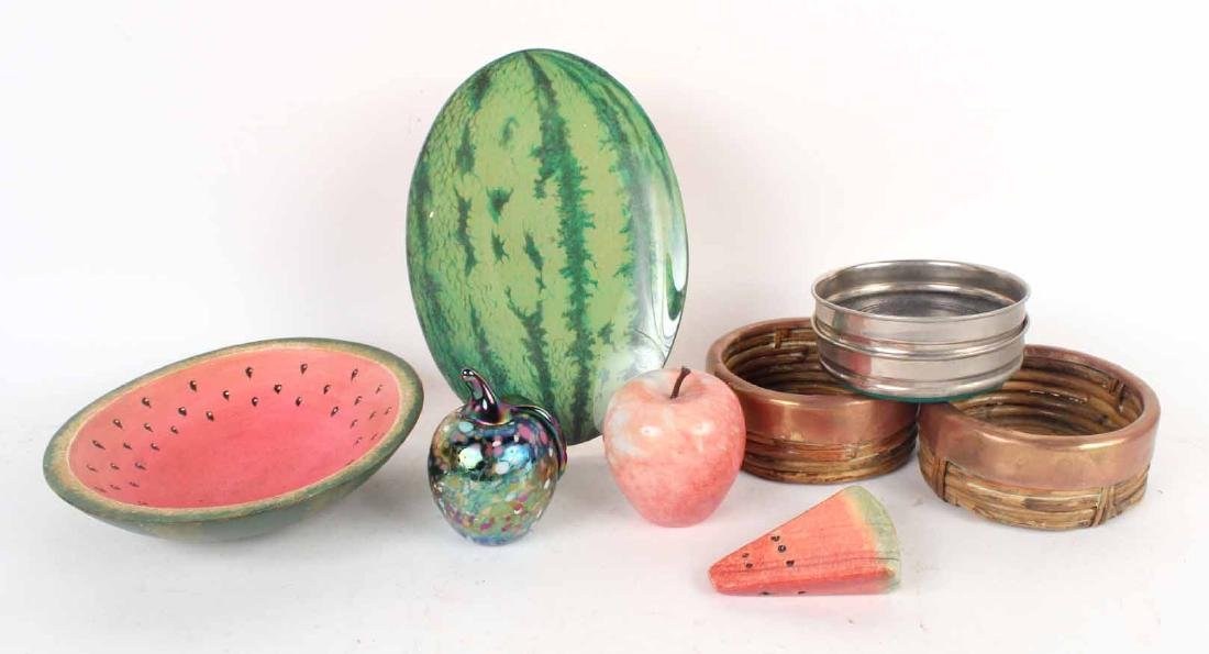 Group of Fruit Table Articles