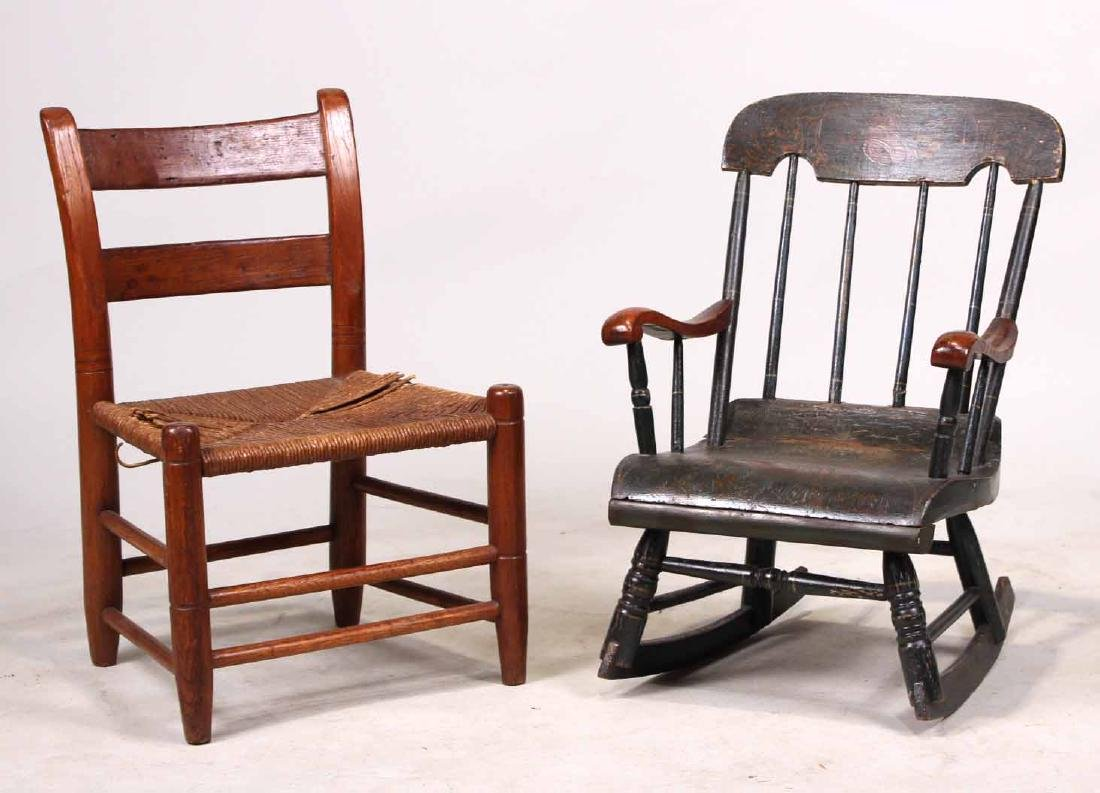 Two Child's Chairs