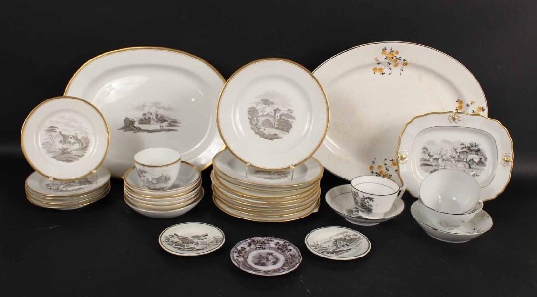 Partial Porcelain Dessert Service
