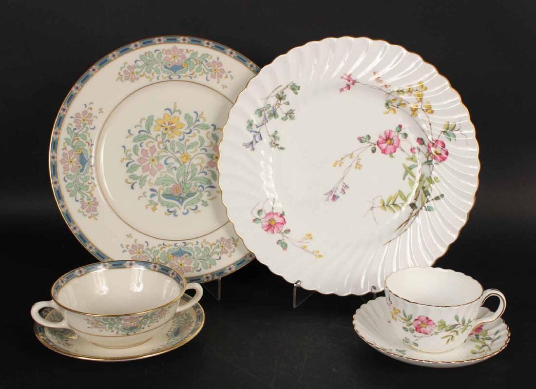 Minton Partial Porcelain Dinner Service