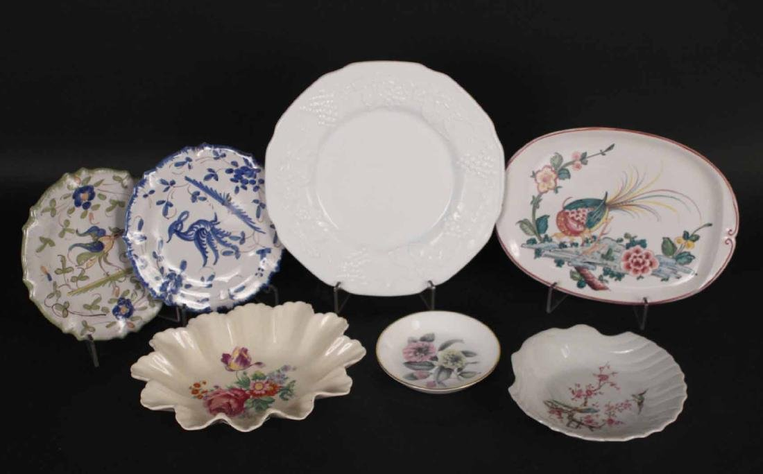 Group of Assorted Porcelain Plates and Dishes