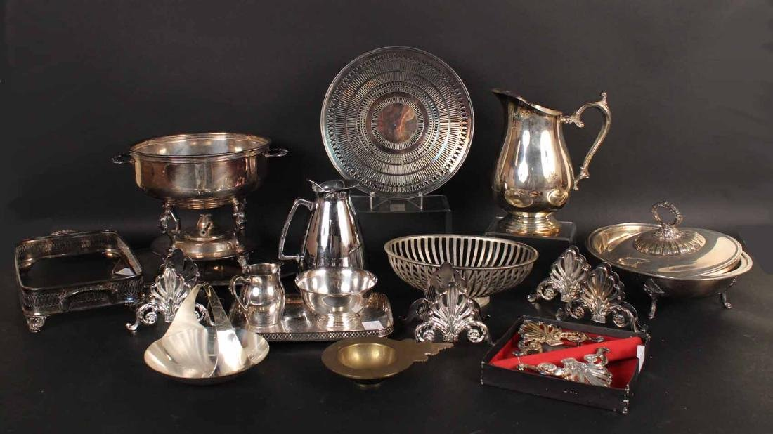 Silver Plated Buffet Serving Wares