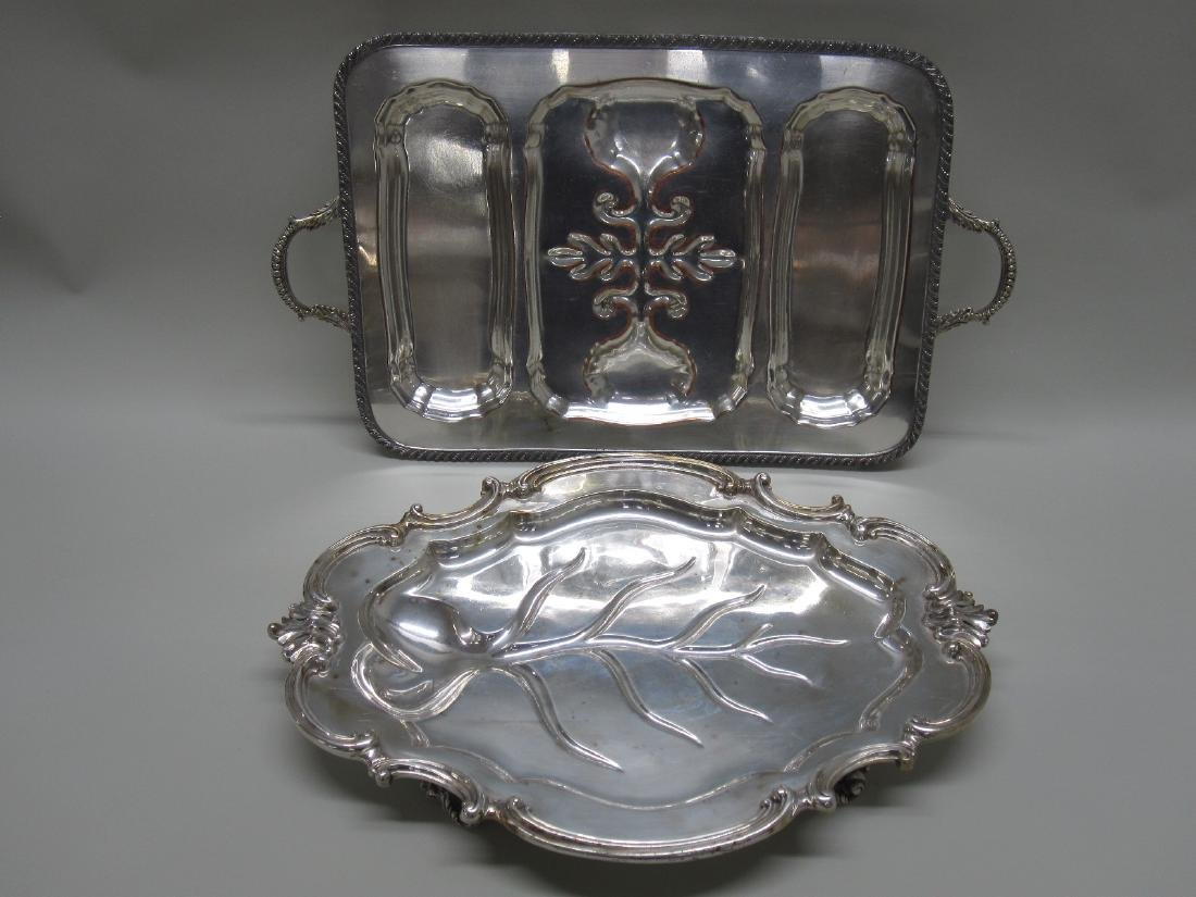 REED AND BARTON SILVER PLATED TRAY