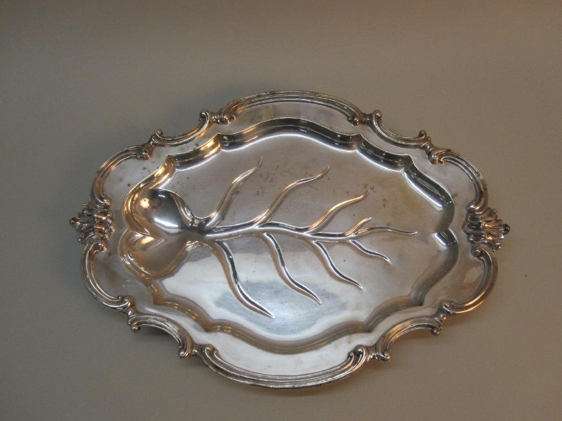 REED AND BARTON SILVER PLATED TRAY - 2