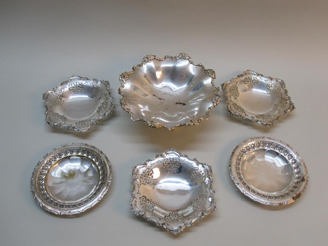 SILVER PLATED FOOTED COMPOTE