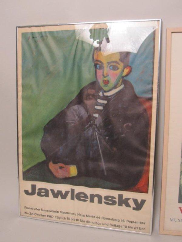 JAWLENSKY 1967 POSTER - 2