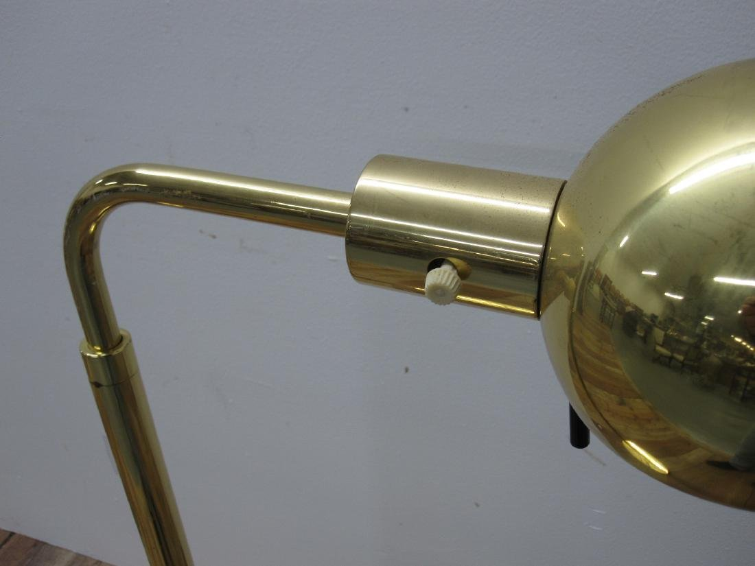 HANSEN BRASS MODERN FLOOR LAMP - 2