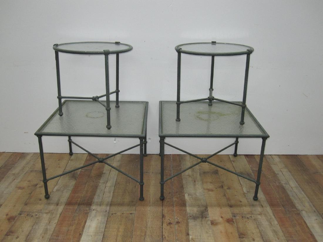 BROWN JORDAN FLORENTINE OCCASIONAL TABLES