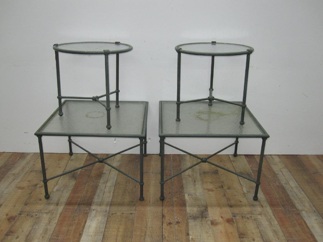BROWN JORDAN FLORENTINE OCCASIONAL TABLES