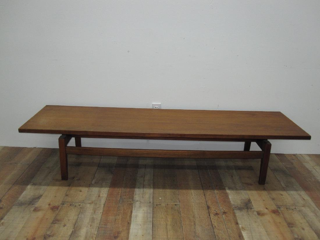 MID CENTURY JENS RISOM DESIGN LOW TABLE