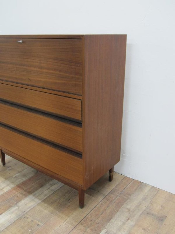 MID CENTURY FALL FRONT DRESSER - 3
