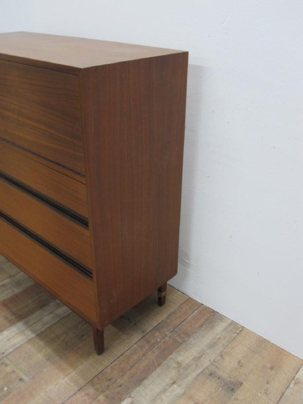 MID CENTURY FALL FRONT DRESSER - 8