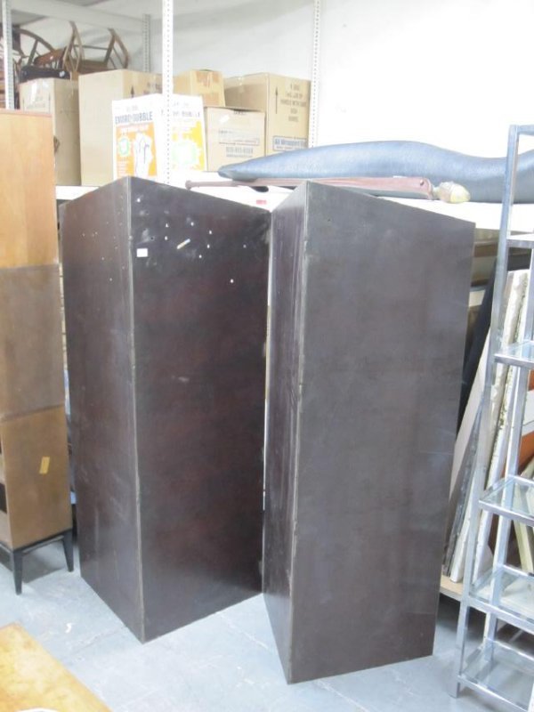 CONTEMPORARY STEEL TWO PANEL SCREEN - 2