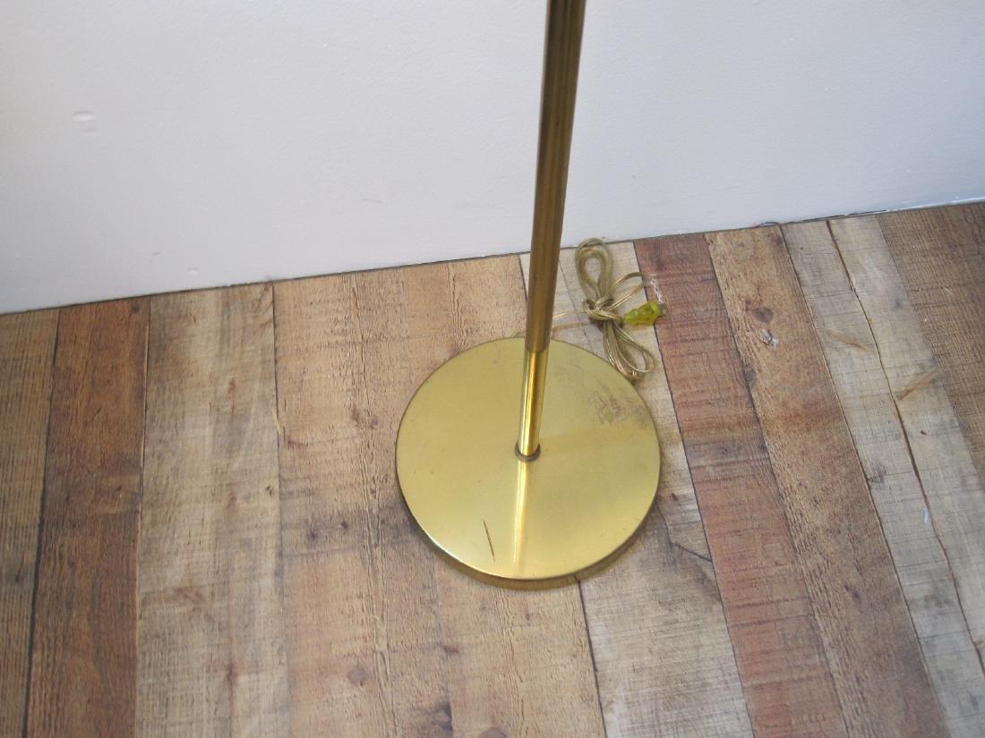KOCH + LOWY BRASS THREE LIGHT FLOOR LAMP - 2