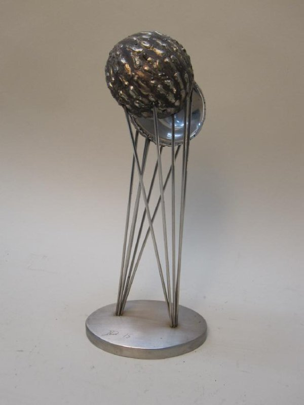 MODERN STAINLESS STEEL TABLE ART - 7