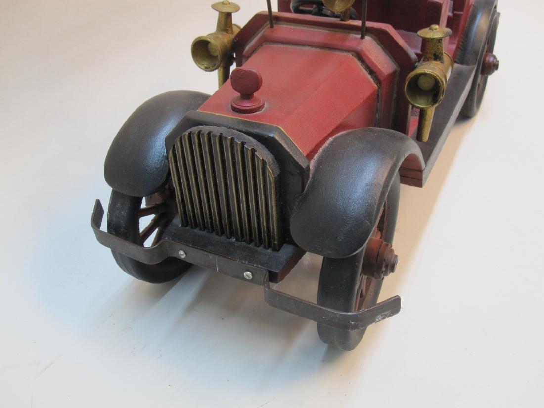 WOODEN FIRE TRUCK - 3