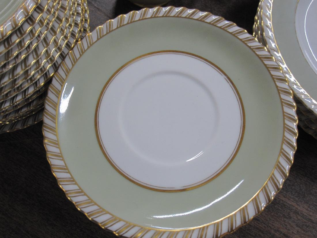PARTIAL FRANCONIA PATTERN DINNERWARE SERVICE - 2