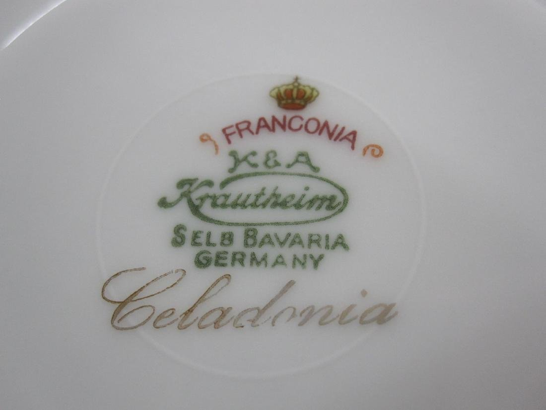 PARTIAL FRANCONIA PATTERN DINNERWARE SERVICE - 3