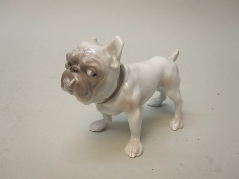 DANISH PORCELAIN BULLDOG