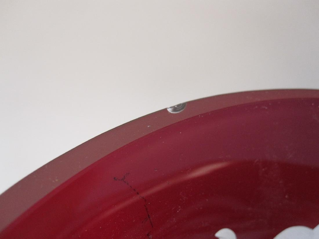 BOHEMIAN RUBY CUT TO CLEAR DECANTER - 4