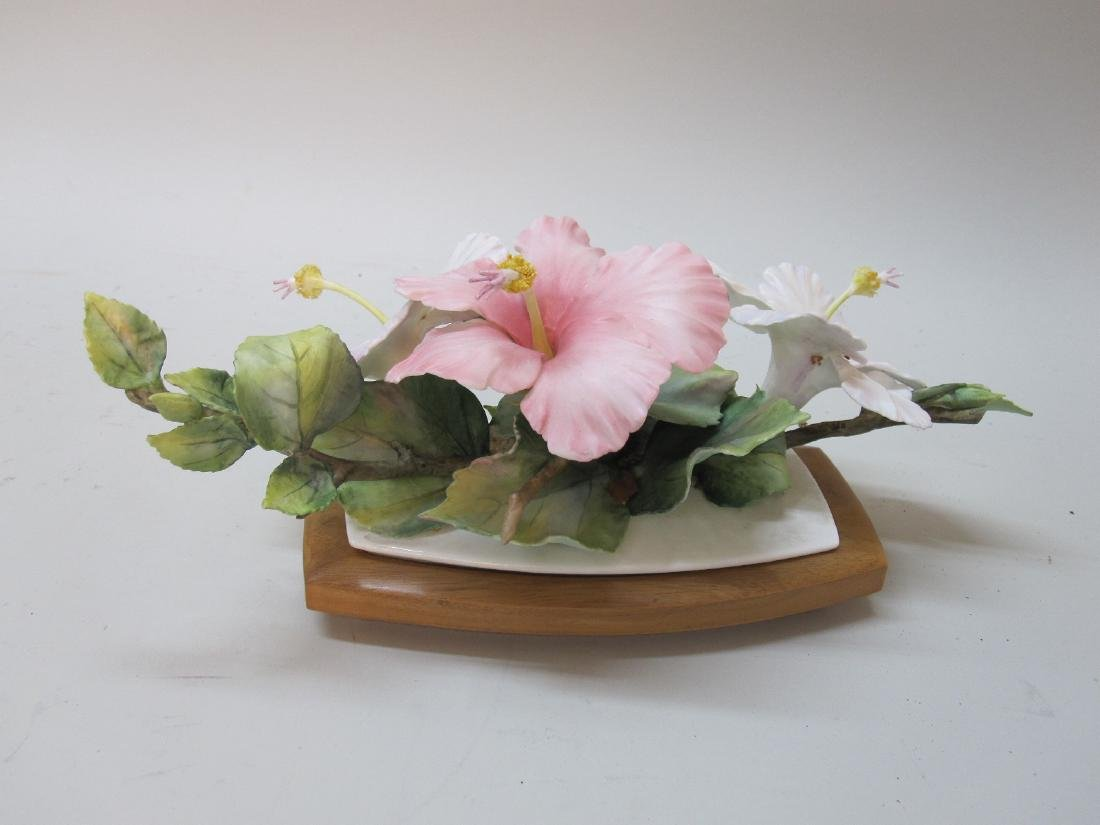 """ROYAL WORCESTER """"HIBISCUS"""" FIGURAL GROUP - 2"""