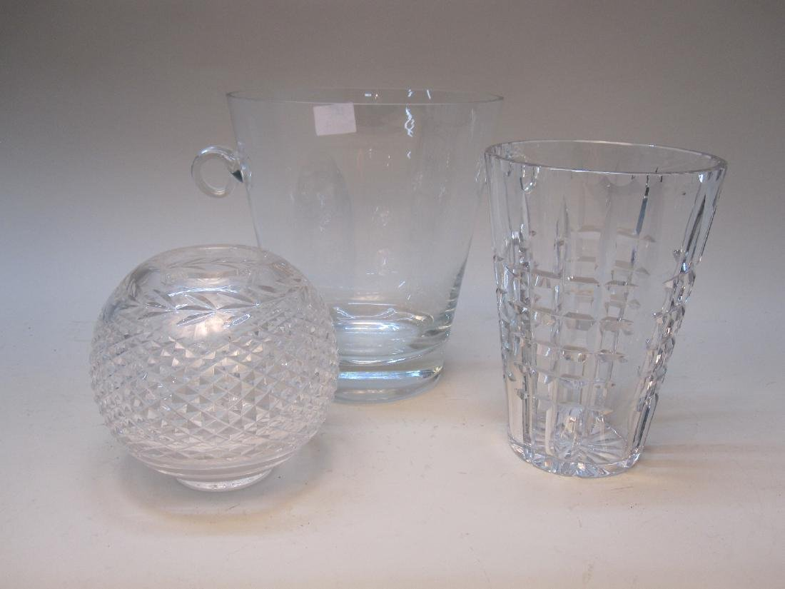 WATERFORD CRYSTAL ROSE VASE