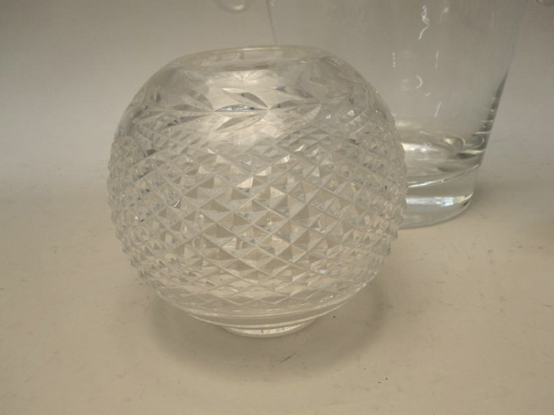 WATERFORD CRYSTAL ROSE VASE - 2