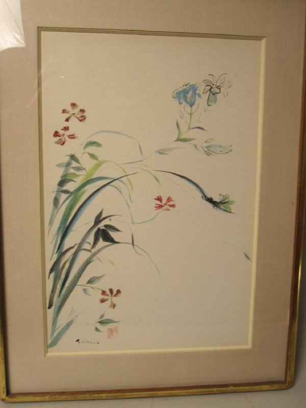 SET OF FOUR MIXED MEDIA SIGNED WILKINS - 5