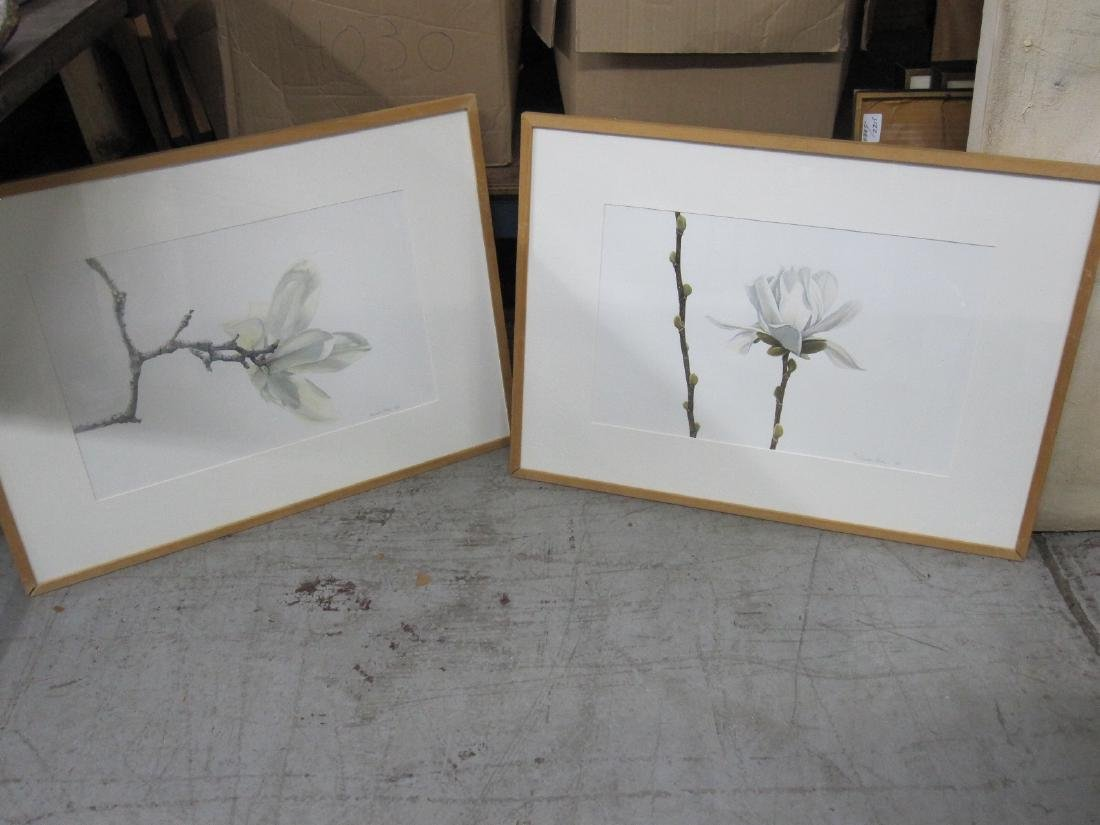 TWO WATERCOLORS BY SUSAN FOX DATED 80/84