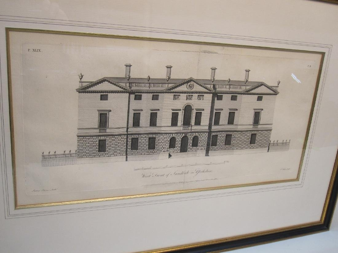 ARCHITECTURAL ENGRAVING OF SANDBECK - 2