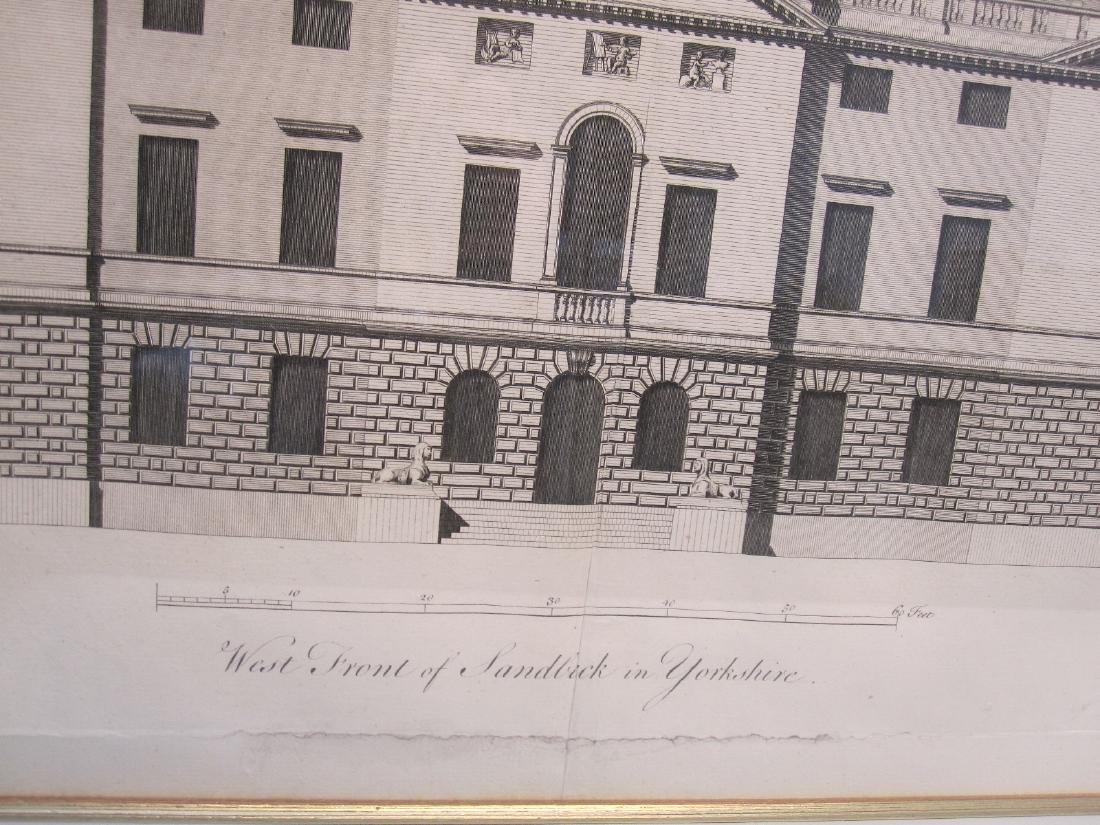 ARCHITECTURAL ENGRAVING OF SANDBECK - 3