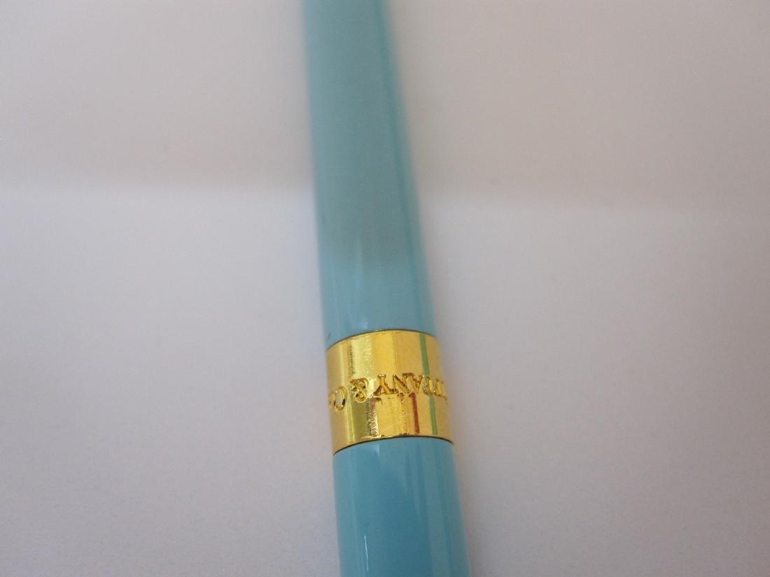 TIFFANY AND COMPANY BLUE PURSE PEN - 2