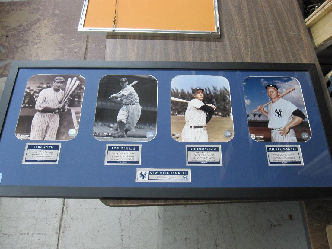 NEW YORK YANKEES ALL TIME GREATS