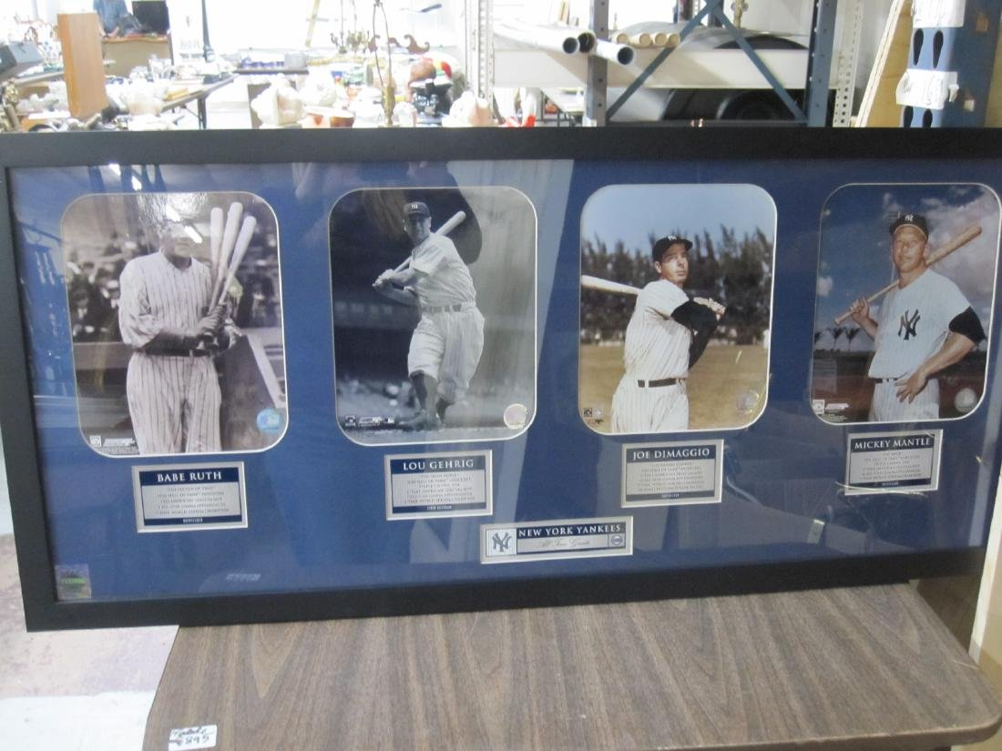 NEW YORK YANKEES ALL TIME GREATS - 2