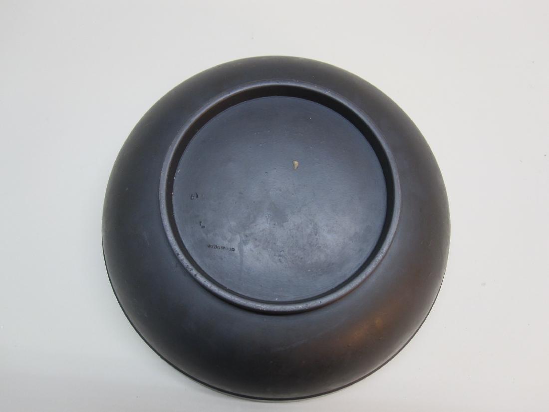 BLACK WEDGWOOD BASALT CENTER BOWL - 3